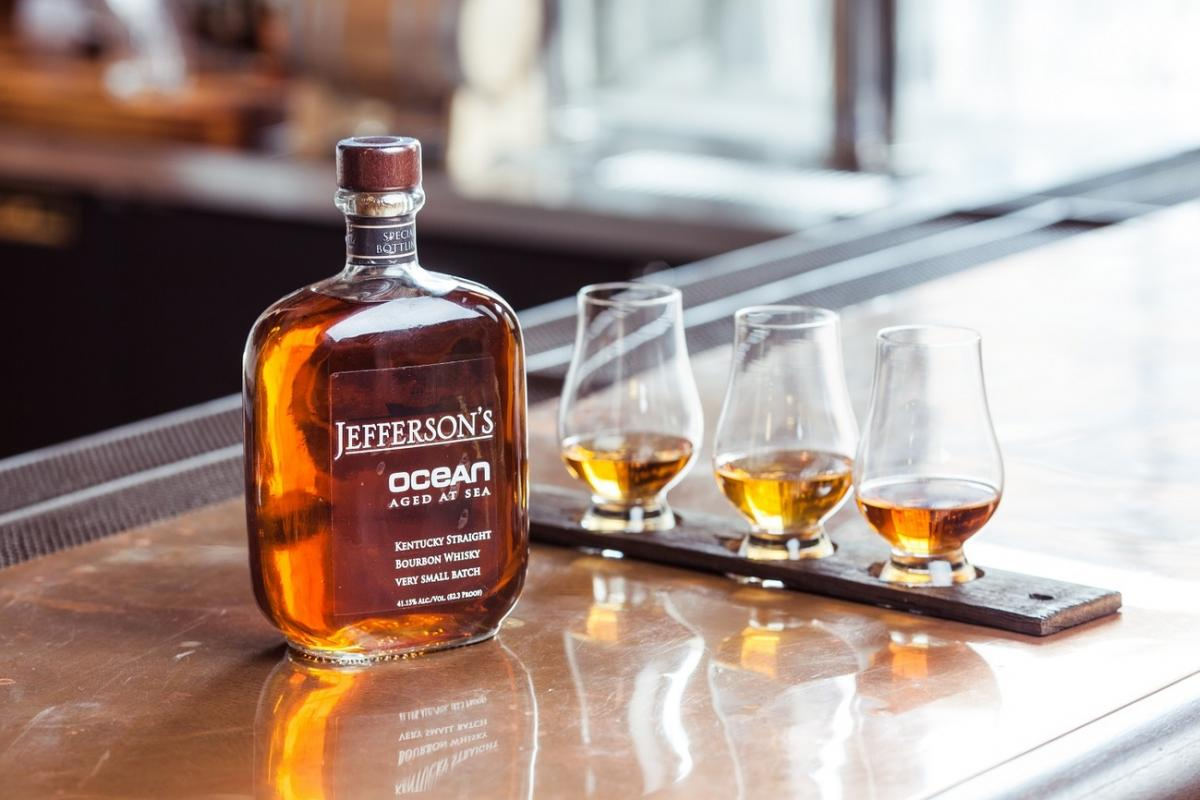 jeffersons ocean bourbon aged at sea